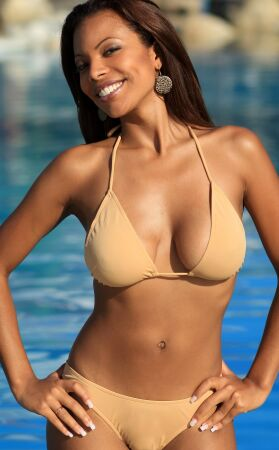 Sheer When Wet Colombian Bikini