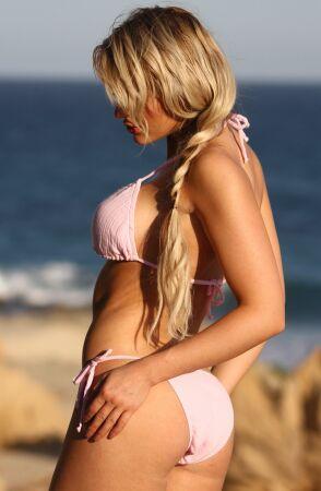 Gauze String Bikini