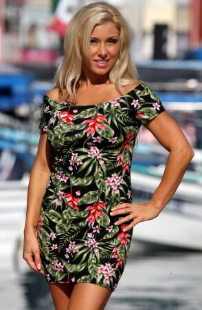 Tropicana Black Bella Dress