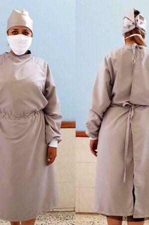 Minimalist Isolation Gown
