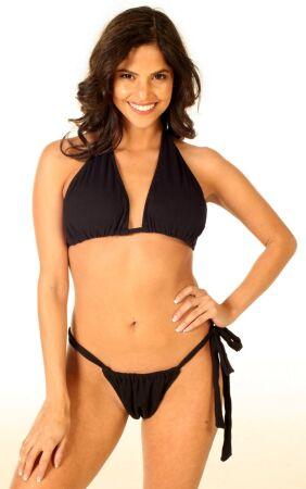Bohemian Halter Gauze Bikini