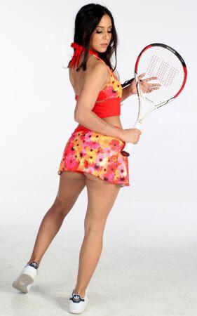 Wimbledon Skirted Banded Tankini