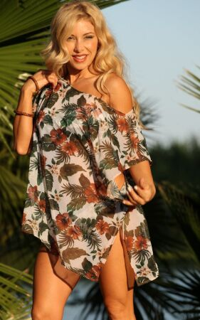 South Pacific Sheer Tunic