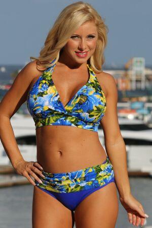 Cabana Banded Minimizer Swimsuit
