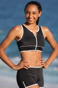 Outline Sport Zip Bikini