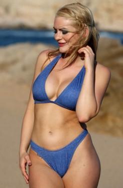 Barcelona Thong Demin Bikini