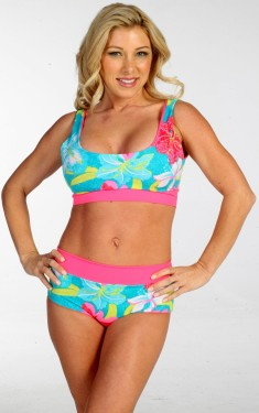 Easee Fit Reversable Action Cabana Bikini