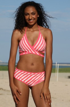 Outline Wrap Surfer Bikini