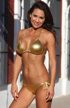 24 Karat Gold Sunrise Bikini