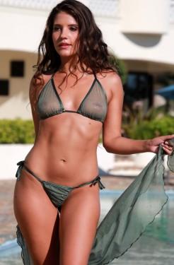 Charming Bikini models sheer apologise, but