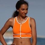 Outline Sport Zip Bikini Top