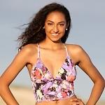 Malibu Cheeky Bikini Purple Breeze