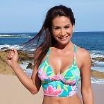 Malibu Cheeky Bikini Tahitian Top