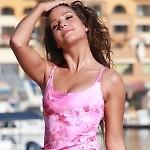 Lealia Orchid LaLola Skirted Bikini Top