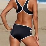 Outline Winged Sport Bikini Bottom