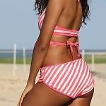 Outline Wrap Bikini Bottom