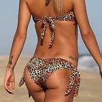 Golden Leopard Bikini
