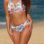 Sea Stars Banded Thong Bikini Bottom