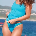 LaLola Turquoise Tankini Bottom