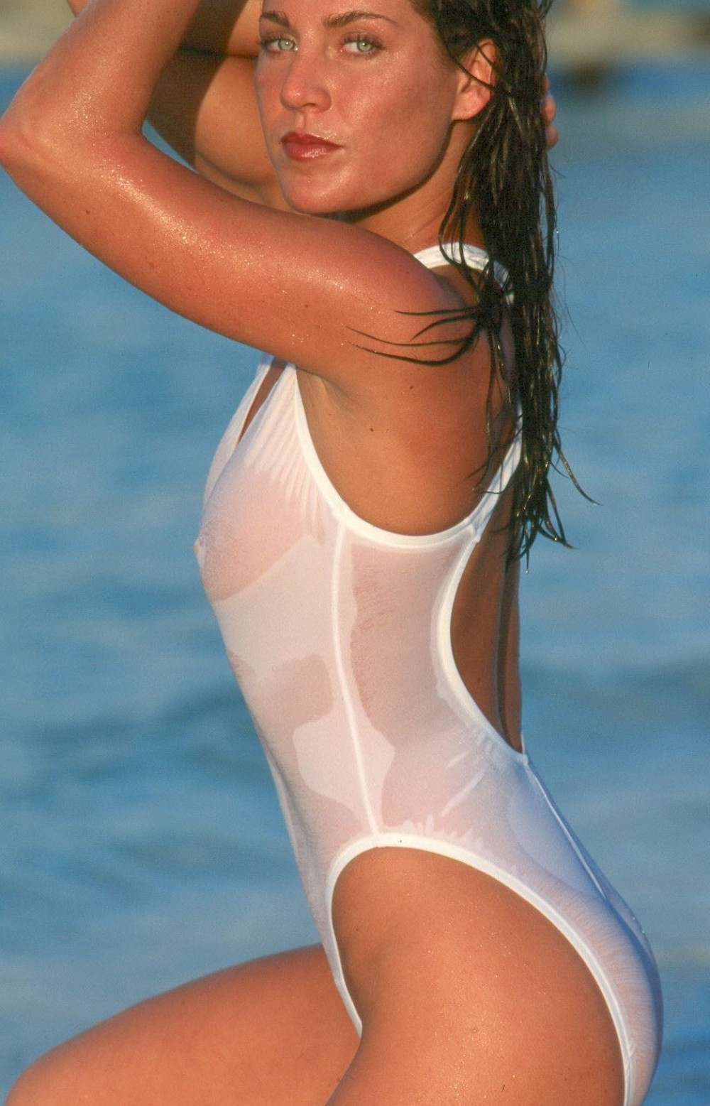 Sheer When-Wet One Piece