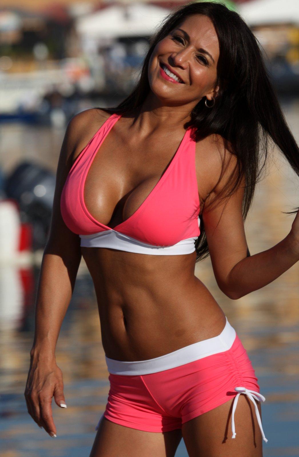 Coral Sport Slimsuit