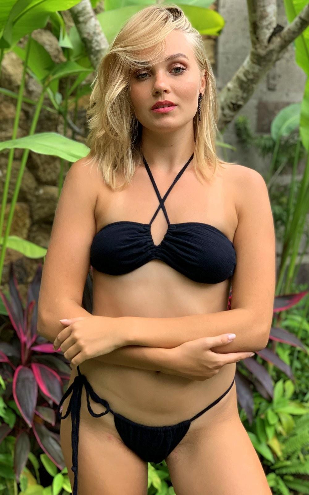 Gauze Bohemian Slider Bikini