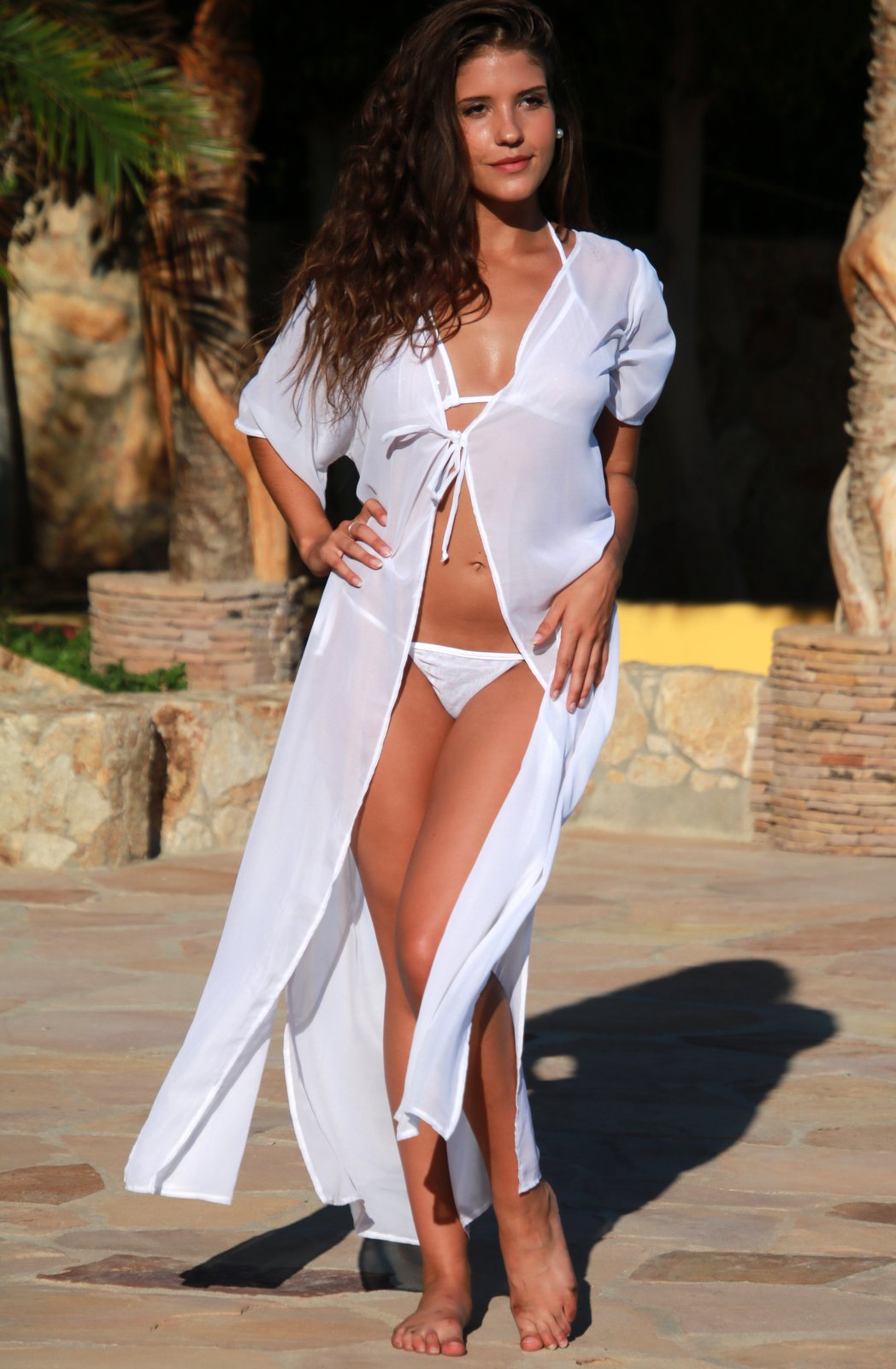 Sheer Resort Robe