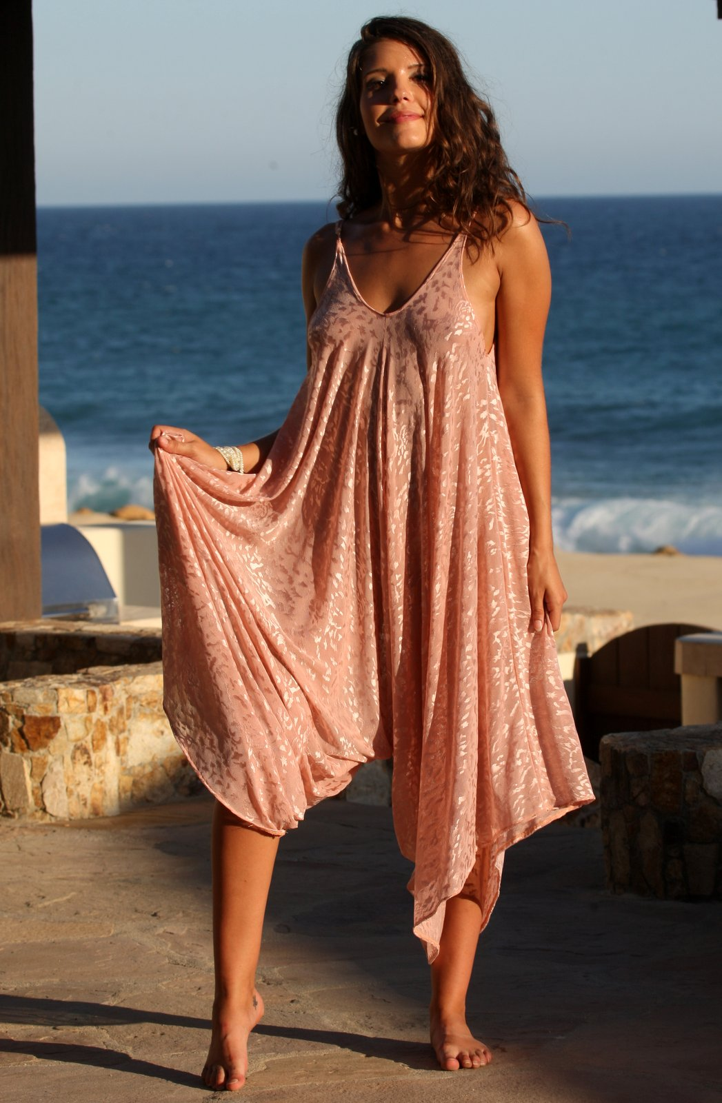 Blush Resort Romper