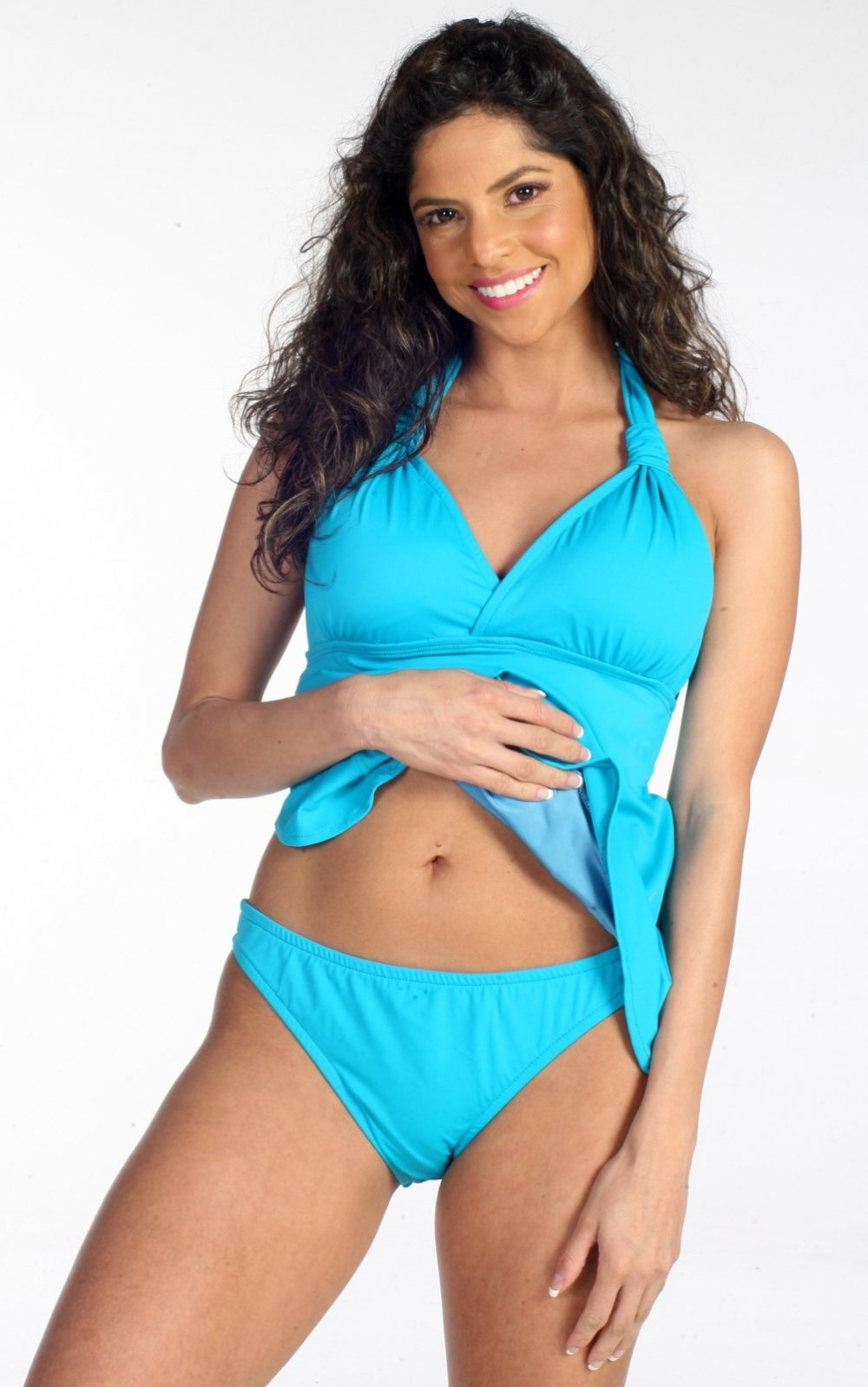 5ae2e8ca4f Ujena Open-Back Tankini Top