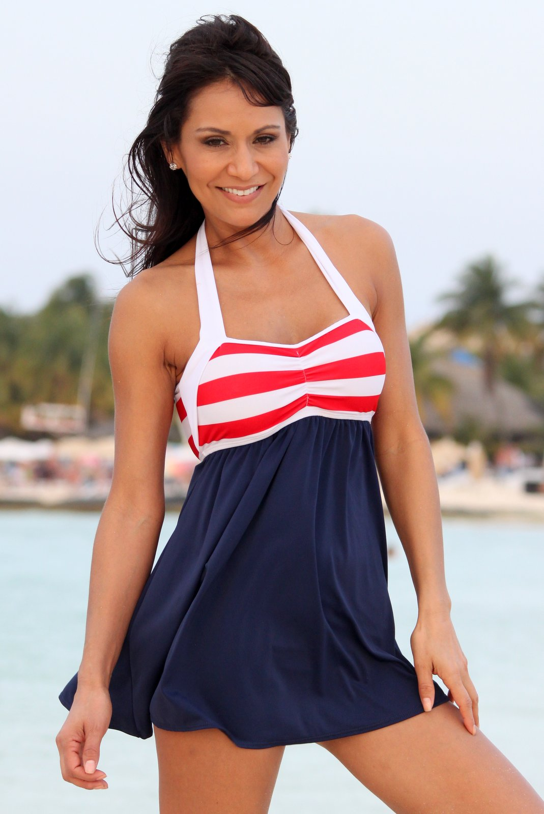 a560412a5f Ujena Sailor Girl Swim Dress