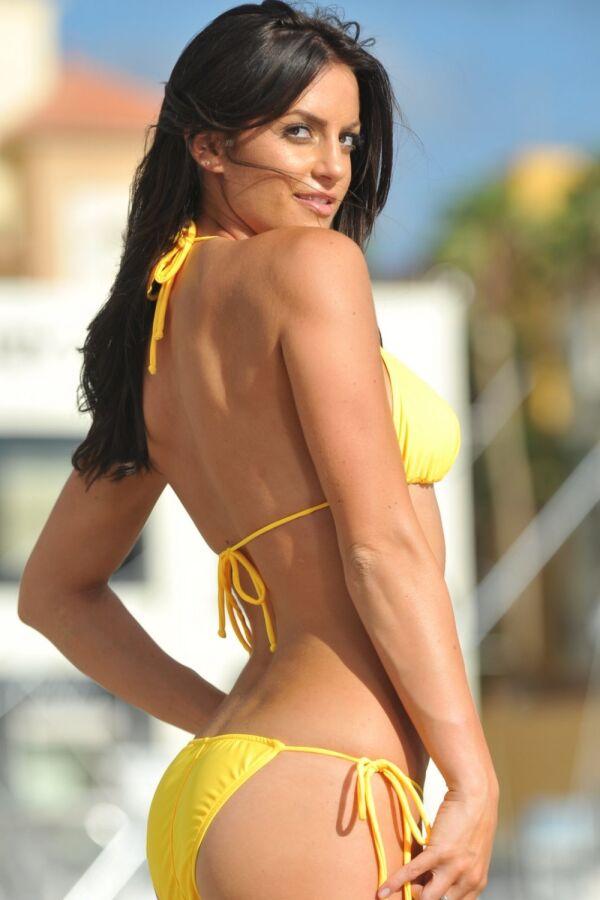 Sheer When Wet String Bikini