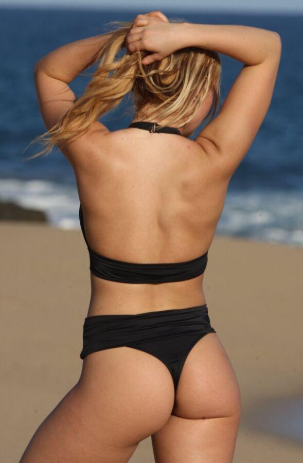 Oasis Beach Banded High Waisted Thong Bikini