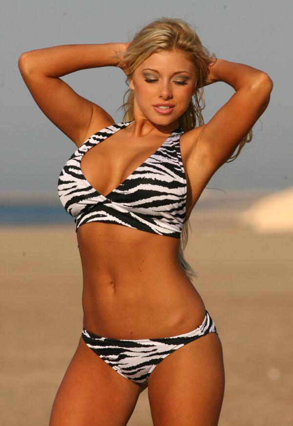 Banded Scoop Bikini