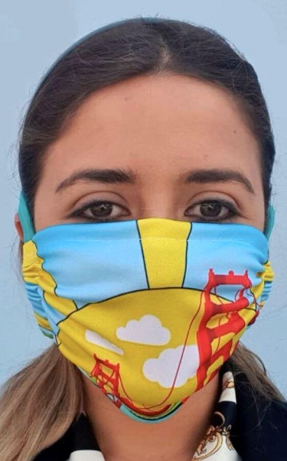 Golden Gate Slider Face Mask