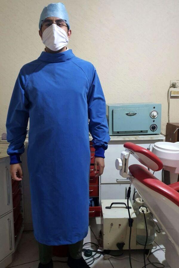 Liquid Proof Universal Isolation Gown