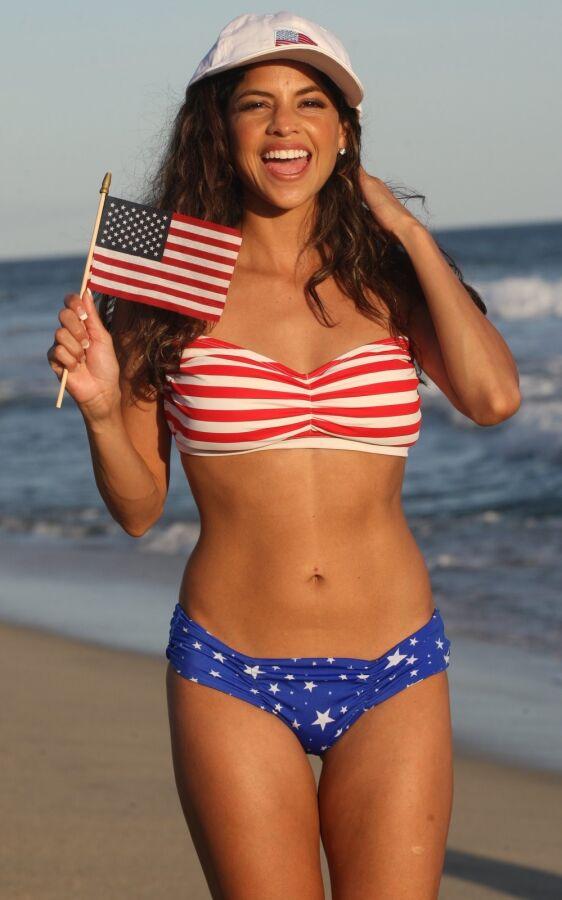 Capri Stars and Stripes Bikini