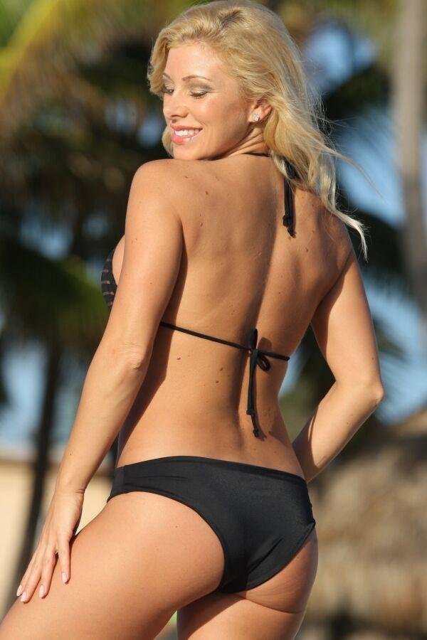 Sheer Stripes Bikini