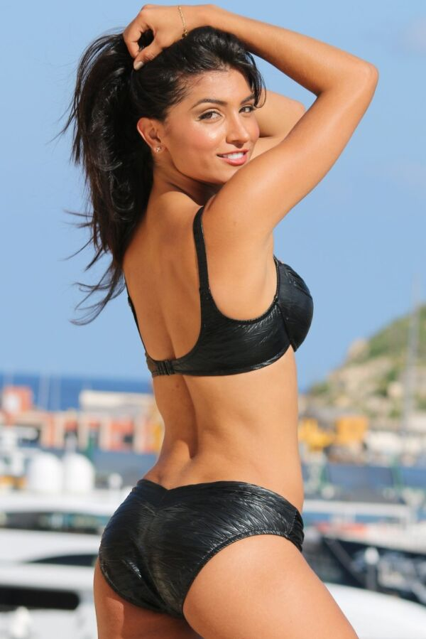 Metallic Calypso Goddess Bikini